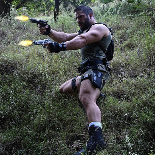 Man Dubbed Quot Larry Croft Quot Puts Buff Spin On Tomb Raider
