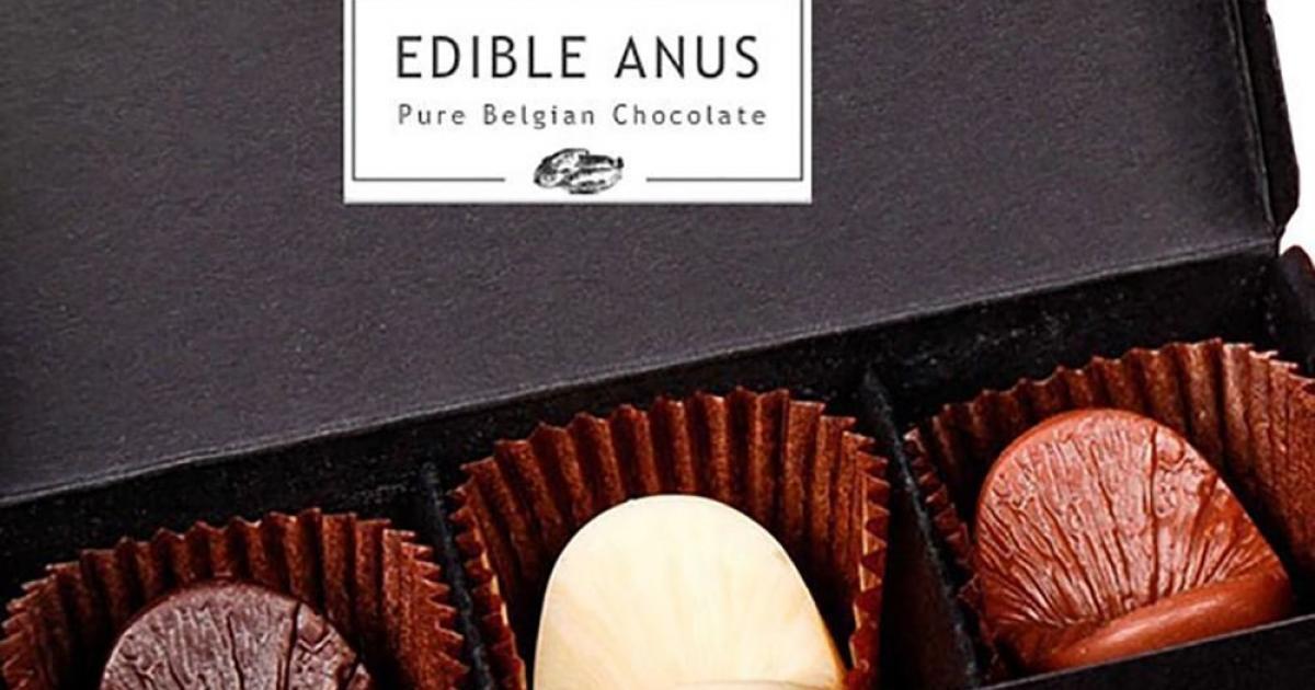 Novelty Edible Anal Butt Milk Chocolates