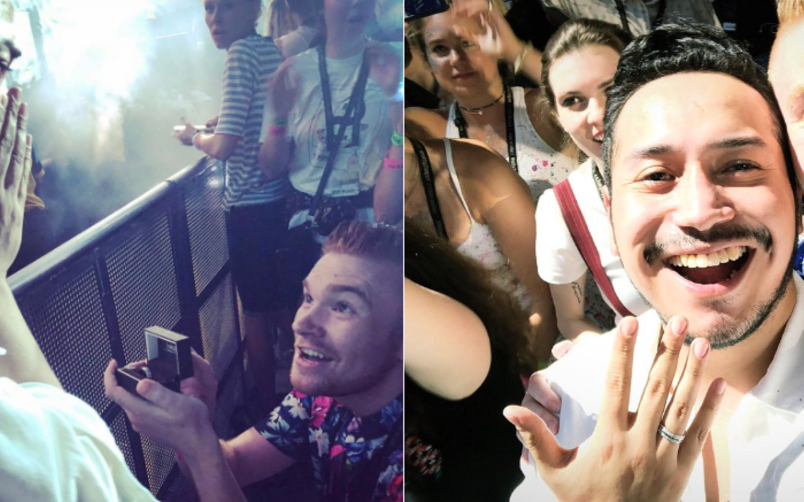 Man Proposes To Boyfriend At Taylor Swift Concert In Dc Aazios Lgbtq News And Entertainment